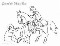 Kostenlose Malvorlagen St Martin Sankt Martin Geschichte Lieder Und Ausmalbilder
