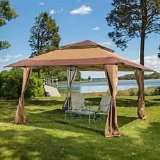 tent gazebo 13 x 13 pop up gazebo patio outdoor canopy tent ebay