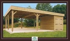 garage 2 places carport ouvert avec abri de jardin carports