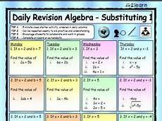 geometry revision worksheets 871 math daily revision worksheets algebra 1 substituting substitution worksheet by