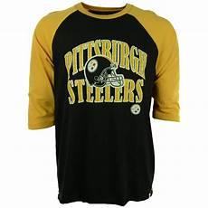 steelers sleeve shirt 47 brand s three quarter sleeve pittsburgh steelers