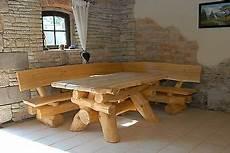 holz tischplatte für draussen rustikale gartenm 246 bel holz massiv sitzgruppe tisch