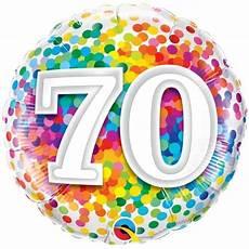 ballon anniversaire confettis 70 ans achat vente