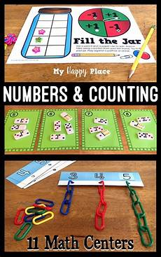 11 hands on activity ideas for early childhood special kindergarten math centers numbers and counting 0 10