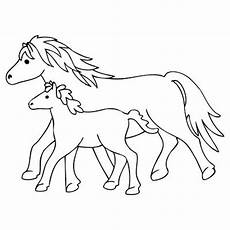 Malvorlagen Pferde Window Color Marabu Window Color Malvorlage Quot Fohlen Und Pferd Quot Marabu