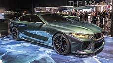 Bmw Concept M8 Gran Coupe Shows Its Green And Gold In