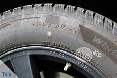 Alter Reifen - reifenalter mittels dot nummer ablesen alter genau