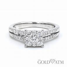 Engagement Rings Sale White Gold 14k white gold engagement ring from zales the