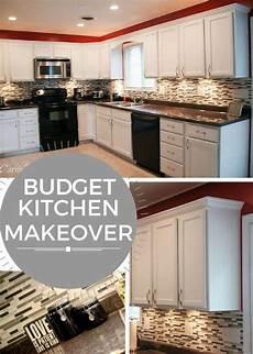 Kitchen Ideas Cheap Makeover by Budget Kitchen Makeover