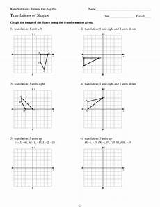 translation of shapes worksheet for 9th 12th grade lesson planet