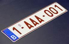 prix d une plaque d immatriculation plaque d immatriculation personnalis 233 e le prix redescend 224 1 000 euros le soir