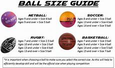 Jolly Ball Size Chart Ball Size Guide