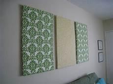 Diy Fabric Wall Crafting Is Sanity