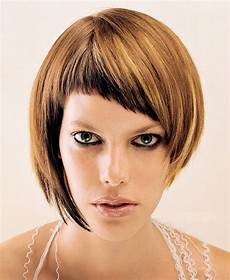 compliment your look with an instant asymmetrical bob