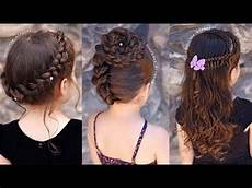 11 cute 5 minute hairstyles for little girls trendy hairstyles for kids youtube