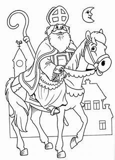 Ausmalbild Bischof Nikolaus Sankt Nikolaus Malvorlagen Drawing Ausmalbilder