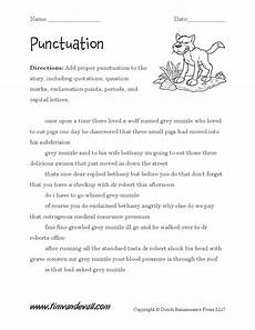 punctuation worksheets englishlinx 20751 punctuation worksheet 02 tim s printables