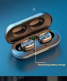 Bakeey Wireless Bluetooth Stereo Earbuds Digital by Bakeey B5 Wireless Bluetooth 5 0 Tws Earbuds Digital