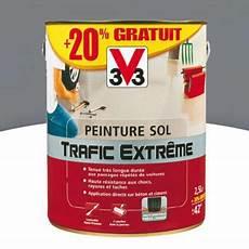peinture sol int 233 rieur ext 233 rieur v33 trafic extr 234 me gris