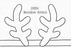 Sven S Antlers Template Den Lille Solstr 229 Le