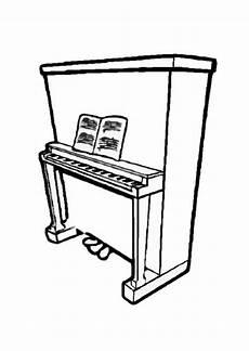 disegno da colorare pianoforte 2 disegni da colorare e