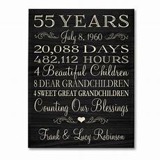 special gift for wedding anniversary personalized 55th anniversary gift for him 55 year wedding