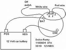 trailer wiring diagram service manual delco remy