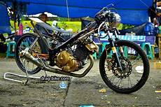 Modif Satria Fu Road Race Style by 45 Foto Gambar Modifikasi Motor Satria Fu Drag Race Style