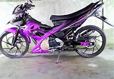 Modifikasi Motor Fu by Top 9 Foto Modifikasi Motor Suzuki Satria Fu 150