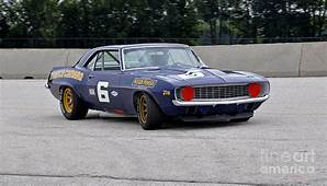 1969 Chevy Camaro Trans Am Race Car Photograph By Tad Gage