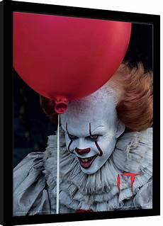 Gerahmte Bilder Kaufen - it pennywise balloon gerahmte poster bilder kaufen
