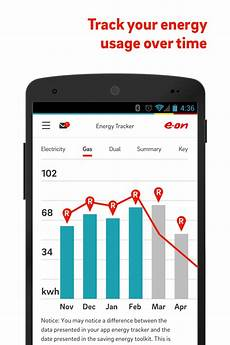 manage your account on our app home energy e on