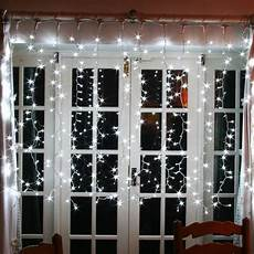 Decorations Lights Windows by 500 White Led Indoor Curtain Light Connectable 2m X 2