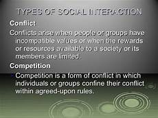 5 most common forms of social interaction chapter 5 social interaction