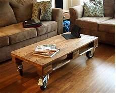 Pallet Coffee Table Wheels