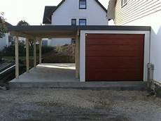 Fertiggarage Garagen Carport Kombination 2