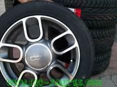 Pack Jantes Fiat 500 Antracite 15 Pouces Pneus