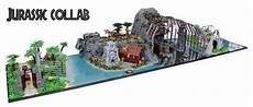 jurassic park lego set creation combines all the