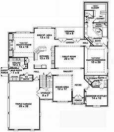 4 bedroom country house plans 653747 two story 4 bedroom 4 5 bath french country