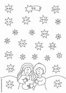 Ausmalbilder Weihnachten Christlich Adventskalender Kinderbasteln Weihnachten Basteln