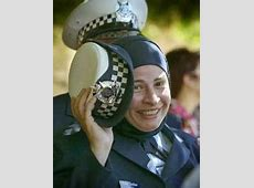 Wearing the hijab with the police uniform   The Hijablog