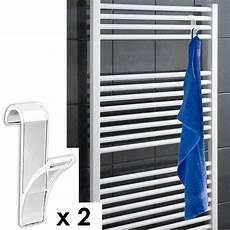 Seche Serviette Pour Radiateur 2 Crochets Pour Radiateur S 232 Che Serviette Transparent