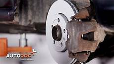 how to replace front brake discs and brake pads skoda