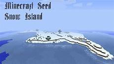 minecraft seed 1 5 7 snow island youtube
