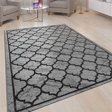 orient teppich marrokanisches muster grau teppich grau