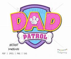 Paw Patrol Logo Malvorlagen Logo Paw Patrol Pink Version For To Print And Cut 11