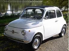 classic chrome fiat 500 f 1967 f white