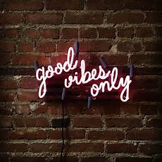 good vibes only mounted neon sign ready made good vibes only mounted neon sign ready made
