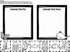 animal movement worksheets 13953 how animals move printable book sorting worksheets posters animal worksheets animal