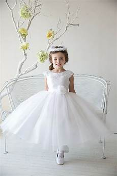 gorgeous white ivory pink blue communion wedding party pageant flower girl dress ebay